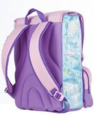 Zaino Scuola Estensibile Disney Frozen Magia Del Cuore Azzurro Rosa 31lt 0 3