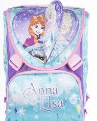 Zaino Scuola Estensibile Disney Frozen Magia Del Cuore Azzurro Rosa 31lt 0 5