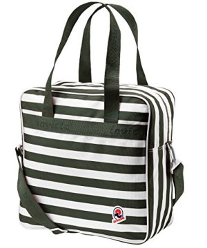 Invicta Borsa Shopper Rover Vintage Original Stripes Verde 0