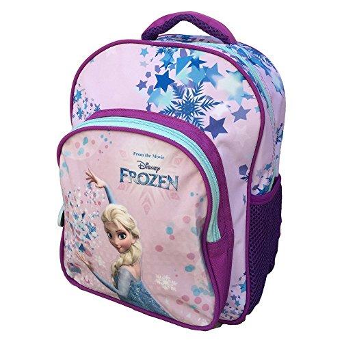 Zaino Frozen Elsa Disney Asilo Borsa Scuola Sagome 3d Cm30 Fr0235 0