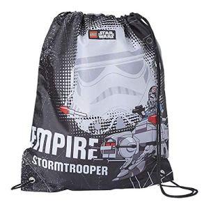 Lannoo Graphics Sac De Sport Lego Star Wars Empire V Stormtrooper Unisex Bambini Nero Blackgrey 2x30x40 Cm W X H L 0