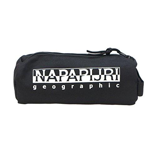 Napapijri Happy Pencil Case Borse A Tracolla Unisex Adulto Schwarz Black 9x9x22 Cm B X H T 0