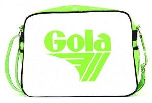 Gola Redford Patent Borsa Limewhiteblack 0