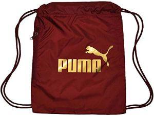 Puma Classic Cat Gym Sack Ginnastica Borsa Sportiva Pomegranate Gold 0