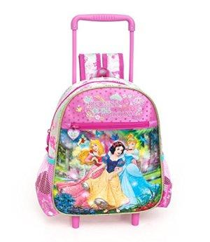 Disney Princess Zaino Trolley Asilo Cm 29x25x11 0