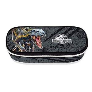 Jurassic World Astuccio Ovale Originale Novit Scuola Collezione 20192020 Dimensioni 22x6x9cm 0