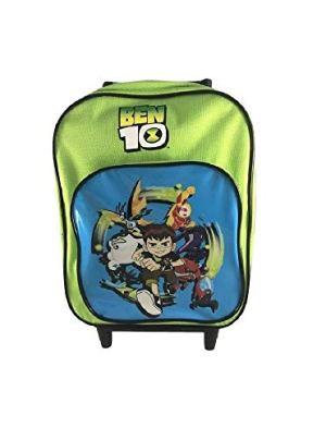 Zaino Scuola Mini Trolley Asilo Ben 10 Verde 0