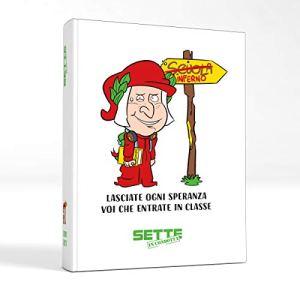 Sette In Condotta Diario Agenda Scolastico 2020 2021 Giant Bianco 0
