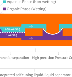 separator function when a hydrophobic membrane is in place the wetting phase purple passes through the membrane dotted line while the non wetting  [ 1220 x 964 Pixel ]