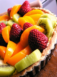 Fruit tart - Tat buah