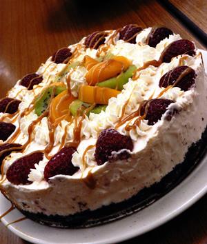 Fruity No-bake Cheesecake