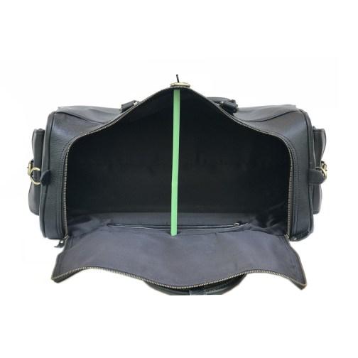 Zakara Leather Overnight Bag