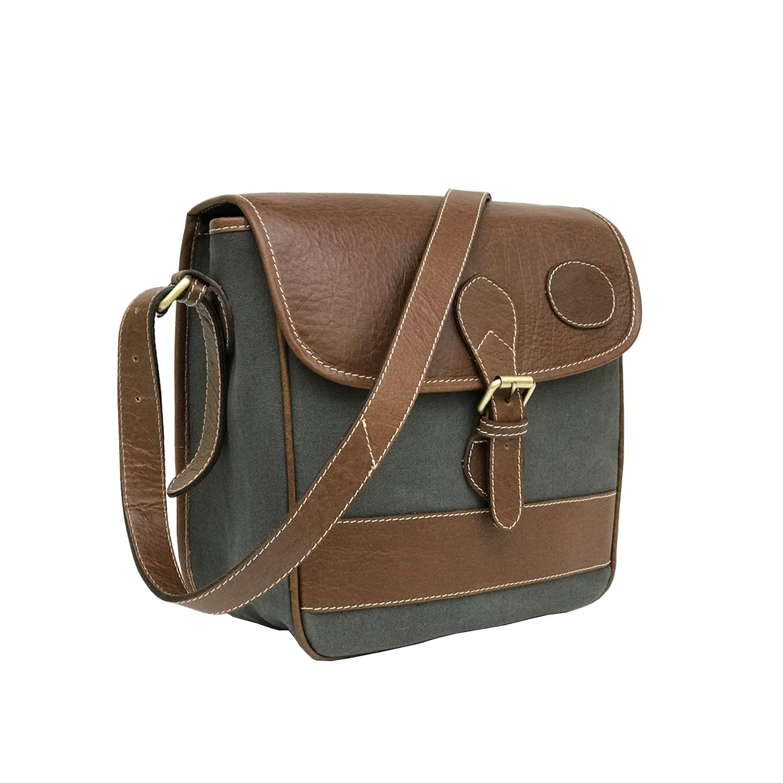Zakara Canvas Messenger Bag