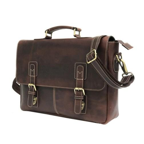 Zakara Brown Messenger Bag