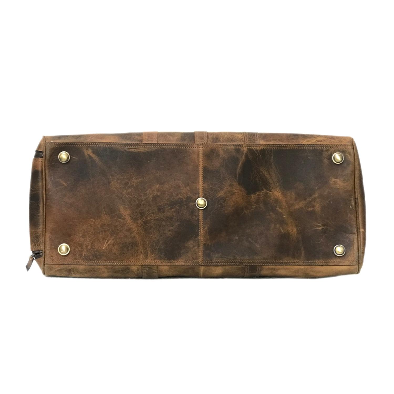 Zakara Leather Duffle Bag