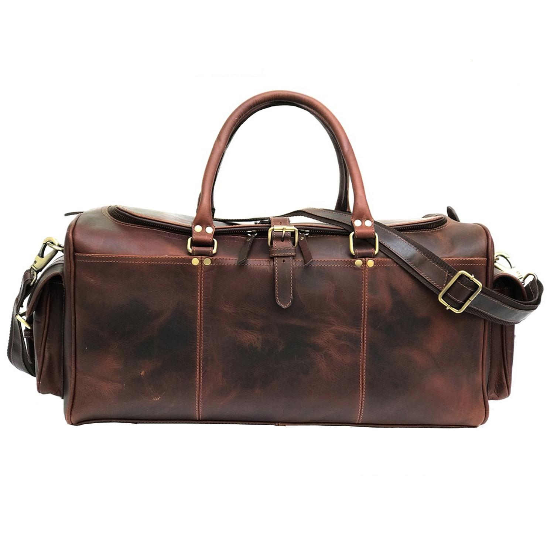 Zakara Leather Gym Bag