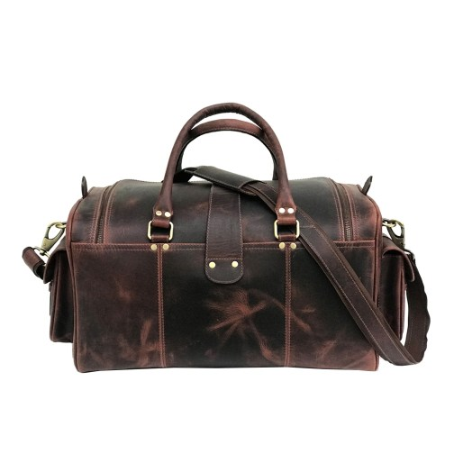 Zakara Leather Duffle Bag