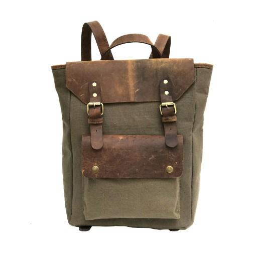 Zakara Canvas College Bag