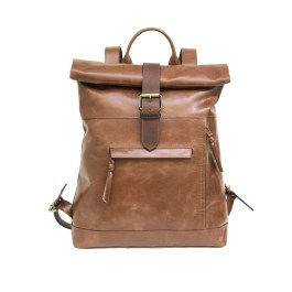 Zakara Leather Tracking Backpack