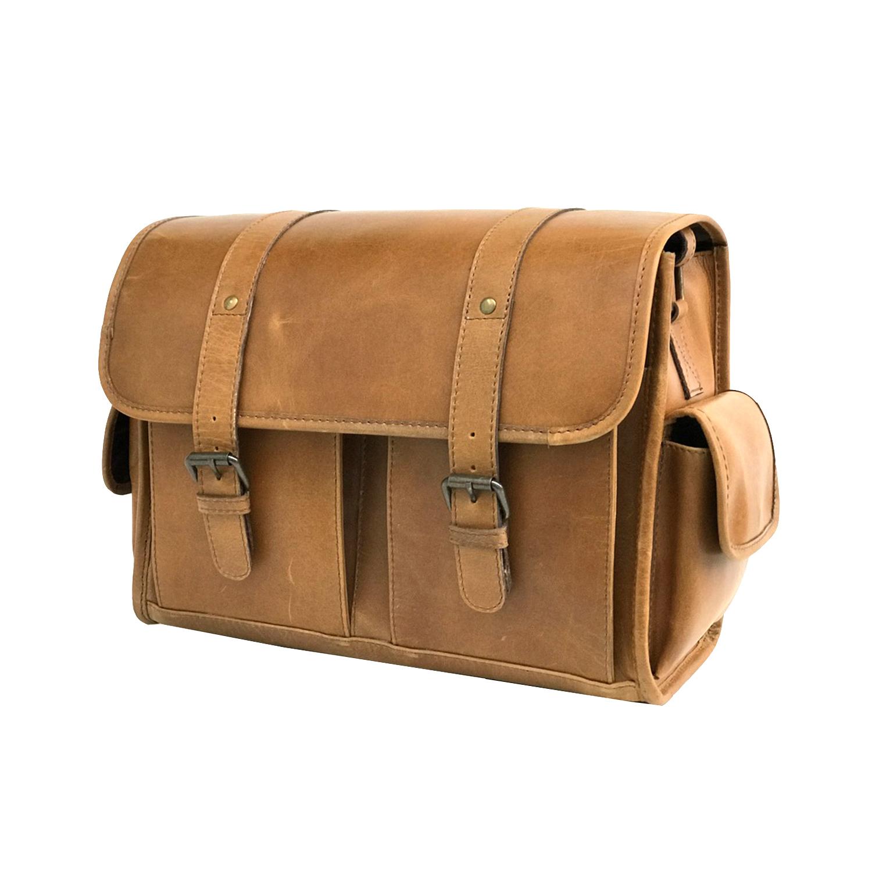 Zakara Leather Camera Bag