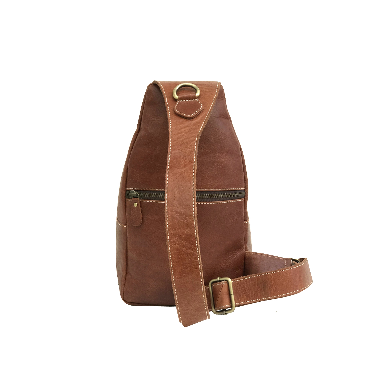 Zakara Leather Chest Bag