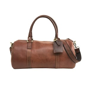 100% Genuine Buffalo Leather Gym Bag