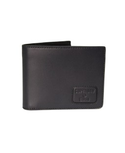 SUPERDRY NYC BIFOLD LEATHER WALLET M9810144A-02A Μαύρο