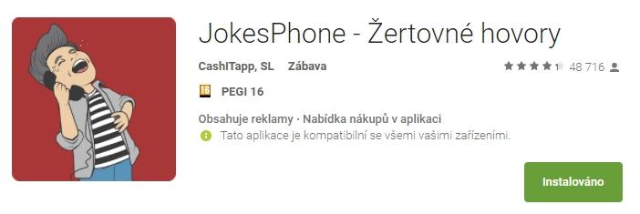 JokesPhone – aneb obtěžující číslo 672322307
