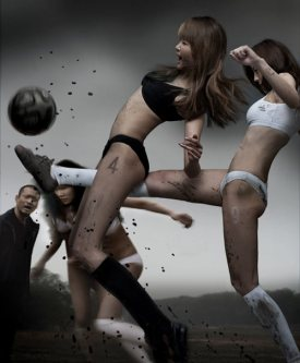 super-sexy-asian-women-playing-football-in-mud