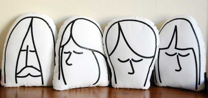 coussin-beatles