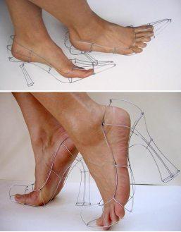 chaussure-fil-de-fer