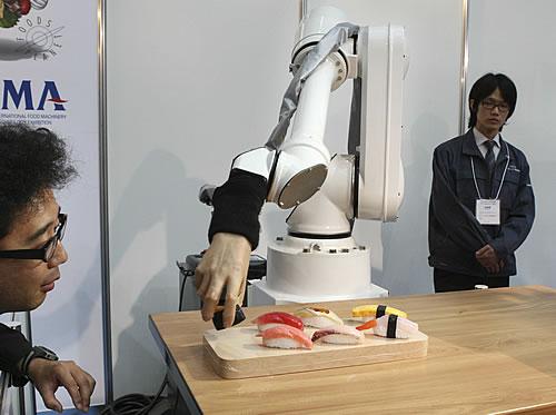robot sushi