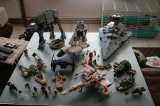lego star wars collection ships vaisseaux