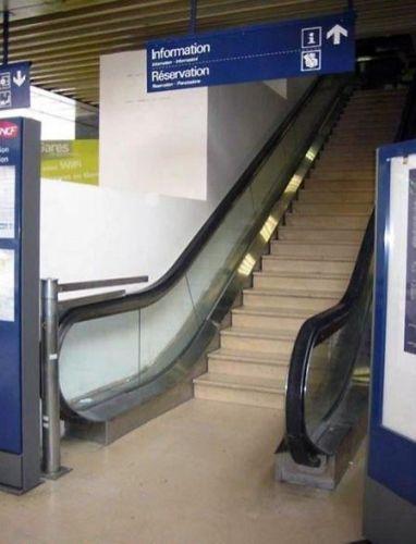 escalator fail