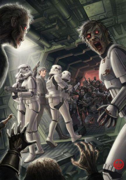 star_wars_zombies stormtroopers dead