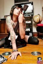 sexy girl rockband
