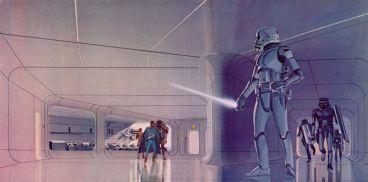 star wars concept-ralph mcquarrie-stormtrooper sabre laser