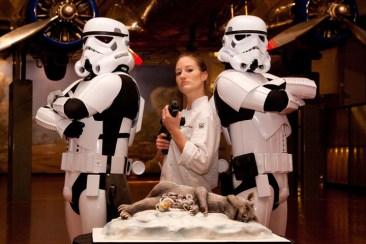 tauntaun gateau de mariage stormtrooper