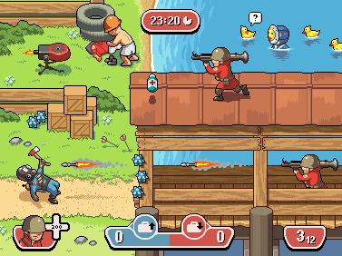 team fortress 2 - tf2 - pixel art