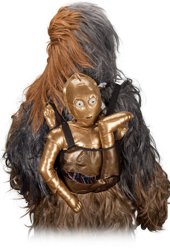 sac a dos wookie c3po
