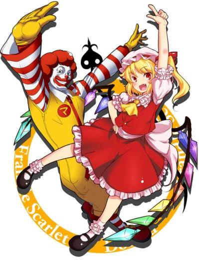 ronald mc donald anime