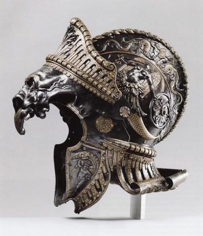 casque antique