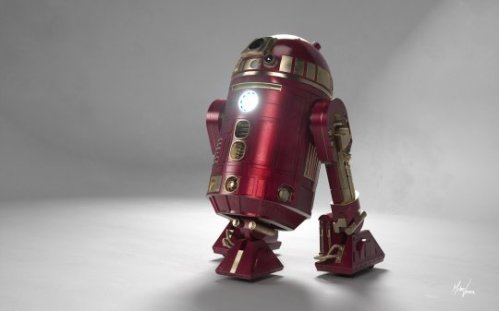 iron r2d2 ironman