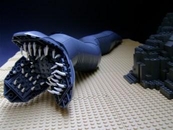 lego dune ver sandworm