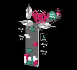 tetris space invader