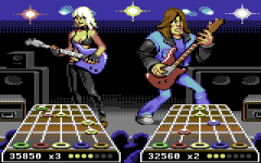 demake c64 guitarhero