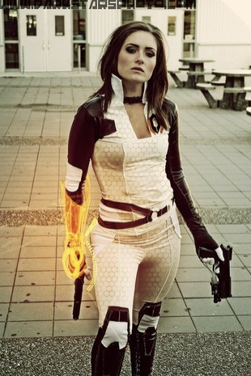 mass effect2 cosplay fx