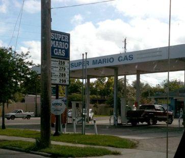 super mario gas