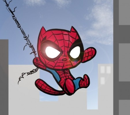 chat spiderman