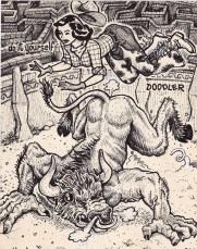 23-Do It Yourself Doodler-David Jablow-taureau